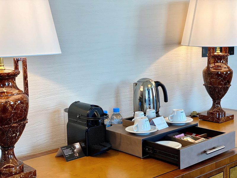 Millennium Doha - Presidential Suite Coffee & Tea Station <br/>Image from Leonardo