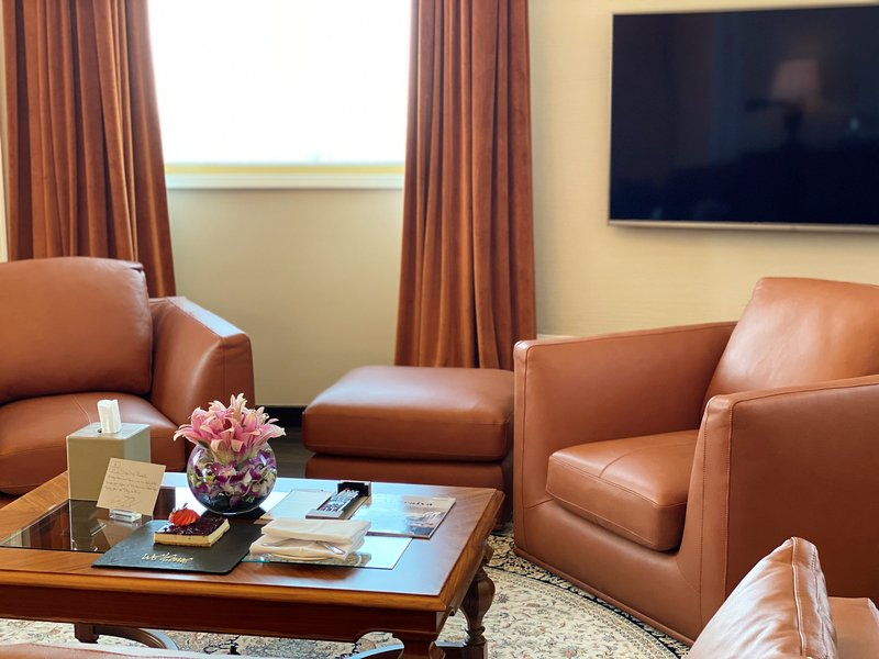 Millennium Doha - Presidential Suite Seating Area <br/>Image from Leonardo