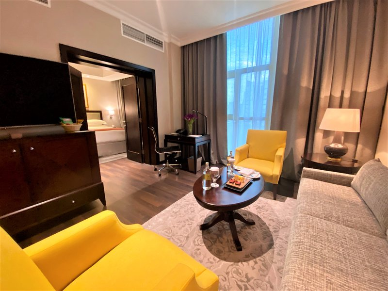 Millennium Doha - Junior Suite Living Room <br/>Image from Leonardo