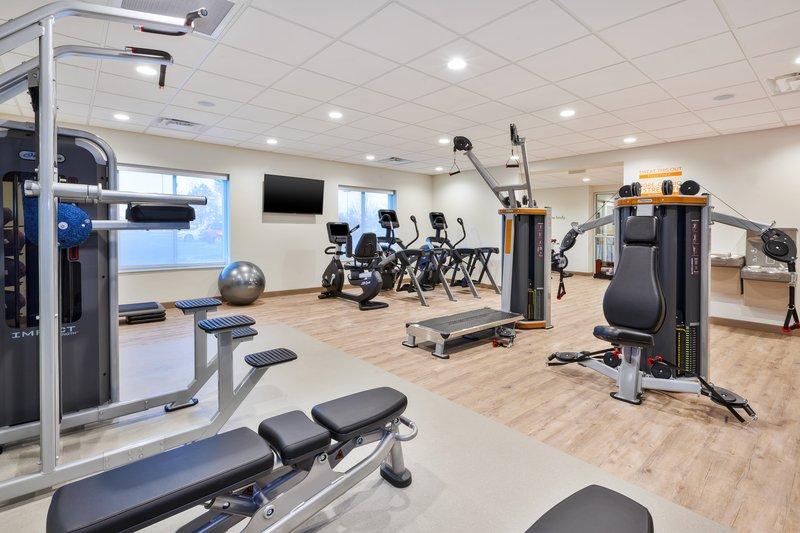 Holiday Inn Express & Suites Ann Arbor-Fitness Center <br/>Image from Leonardo