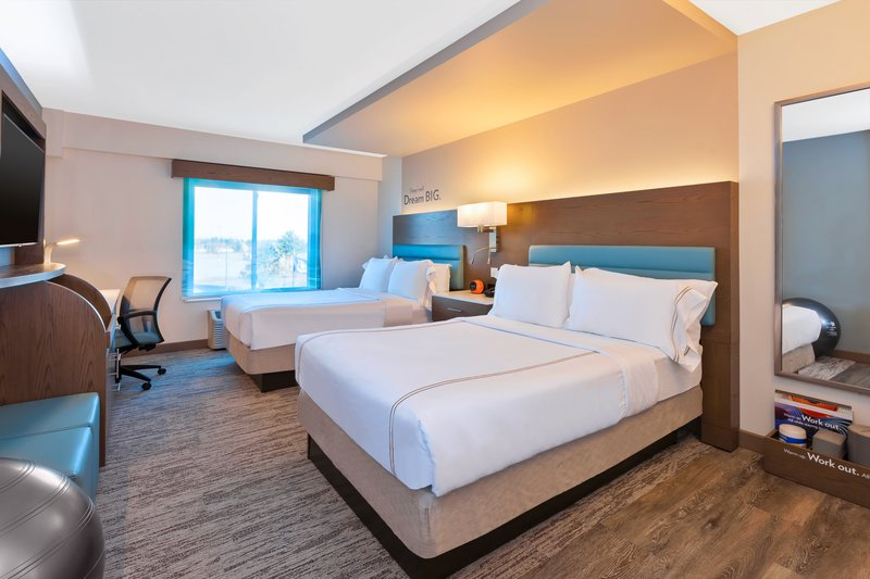 Holiday Inn Express & Suites Ann Arbor-Double Bed Guest Room<br/>Image from Leonardo