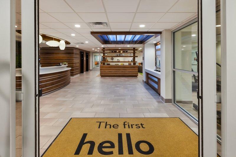 Holiday Inn Express & Suites Ann Arbor-Entrance<br/>Image from Leonardo