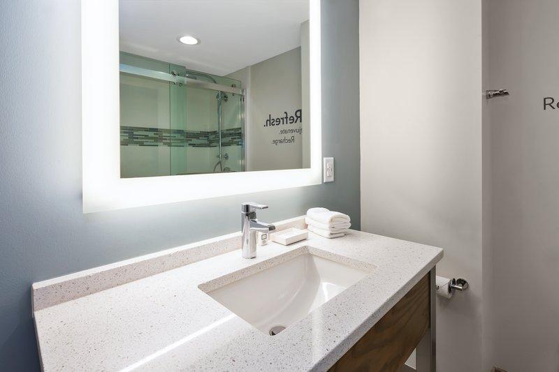 Holiday Inn Express & Suites Ann Arbor-Guest Bathroom<br/>Image from Leonardo