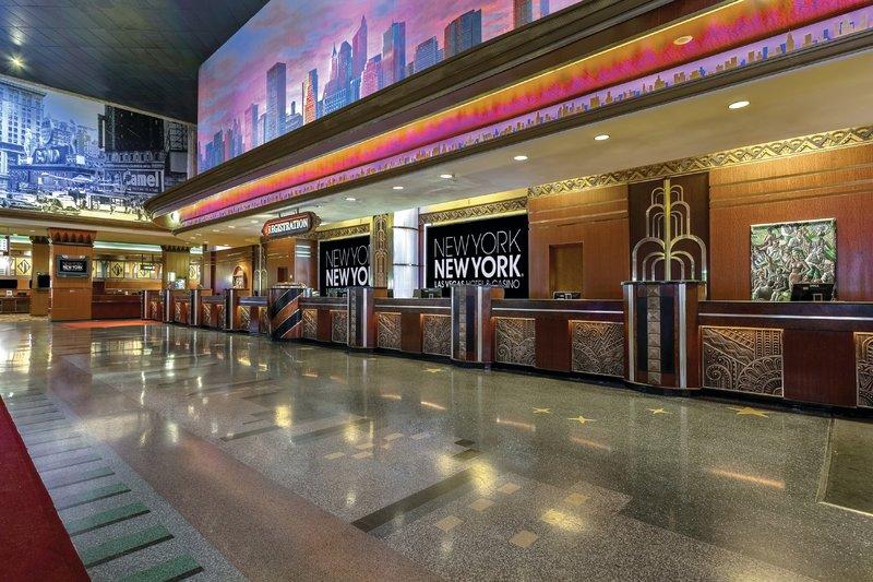 New York-New York Hotel-Front Desk<br/>Image from Leonardo