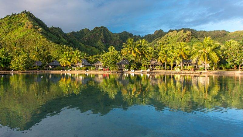 Sofitel Moorea Ia Ora Beach Resort-Nested between the mountains and the lagoon<br/>Image from Leonardo