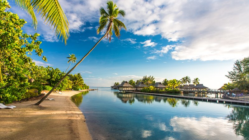 Sofitel Moorea Ia Ora Beach Resort-Beach and lagoon in Moorea<br/>Image from Leonardo