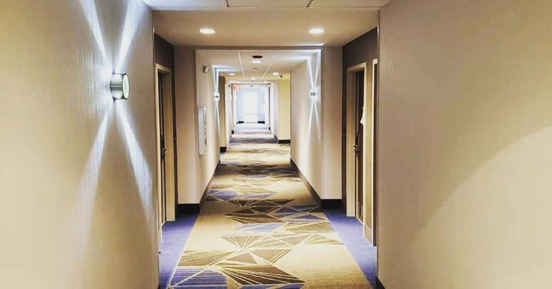Holiday Inn Express And Suites Romeoville - Joliet North-Hallway<br/>Image from Leonardo