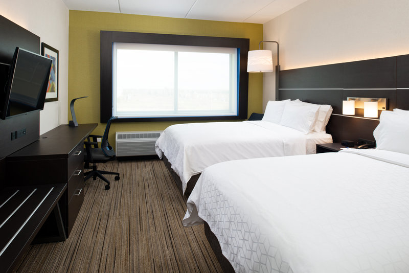 Holiday Inn Express And Suites Romeoville - Joliet North-Our 2 Queen Bed Standard Room<br/>Image from Leonardo