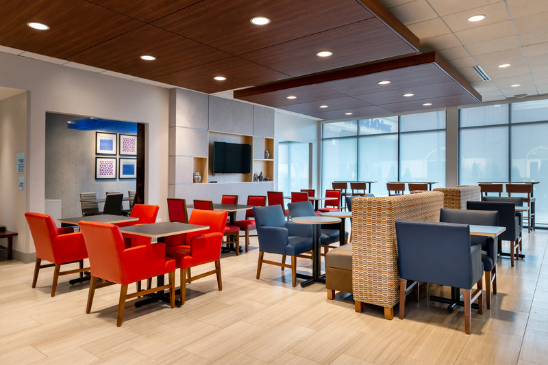 Holiday Inn Express And Suites Romeoville - Joliet North-Our Breakfast Dining Area<br/>Image from Leonardo