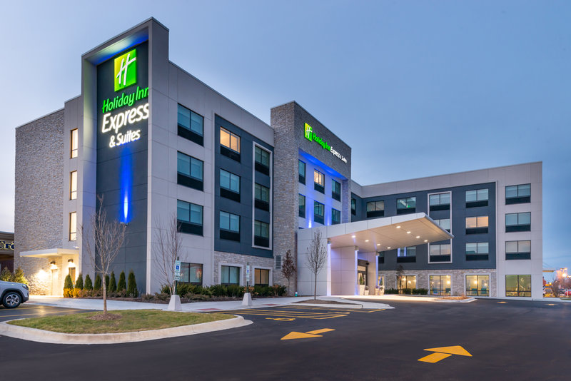 Holiday Inn Express And Suites Romeoville - Joliet North-Newly Built Holiday Inn Express located next to Bowlero<br/>Image from Leonardo