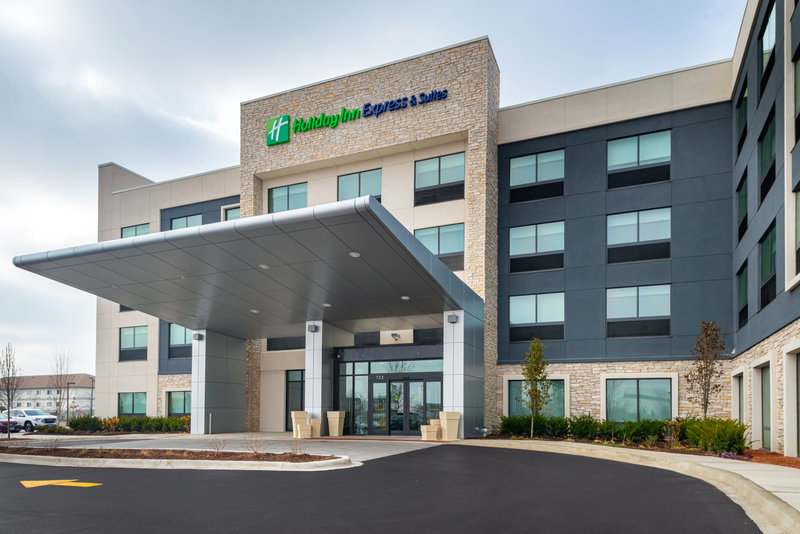 Holiday Inn Express And Suites Romeoville - Joliet North-Front Entrance of the Brand New Holiday Inn Express & Suites<br/>Image from Leonardo