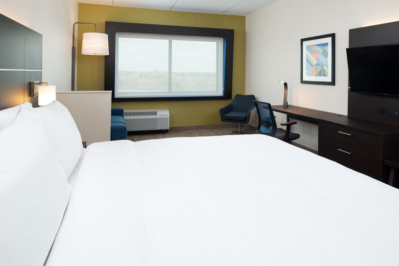 Holiday Inn Express And Suites Romeoville - Joliet North-Large King Bed Guest Room<br/>Image from Leonardo