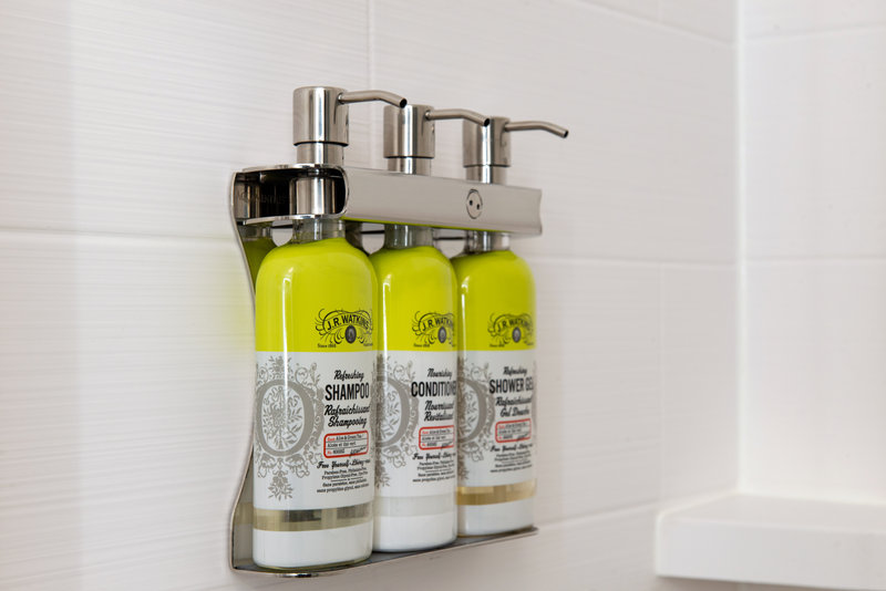 Holiday Inn Express And Suites Romeoville - Joliet North-Enjoy the amenities available in every guest bathroom.<br/>Image from Leonardo
