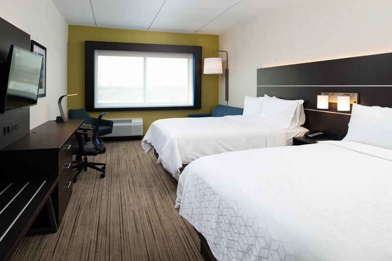 Holiday Inn Express And Suites Romeoville - Joliet North-Utilize a personal office space in our guest rooms. <br/>Image from Leonardo