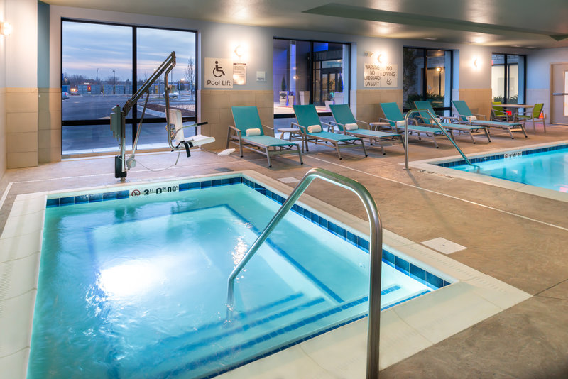 Holiday Inn Express And Suites Romeoville - Joliet North-Relax and enjoy our hot tub after long day at work<br/>Image from Leonardo