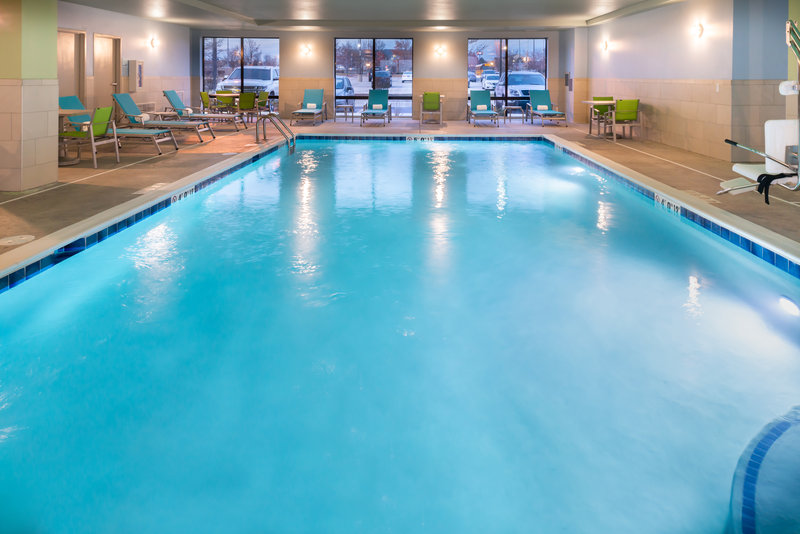 Holiday Inn Express And Suites Romeoville - Joliet North-Full Size Pool<br/>Image from Leonardo