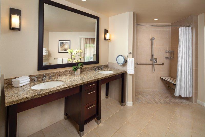 Westin Mission Hills Villas-Accessible Villa Master Bathroom<br/>Image from Leonardo