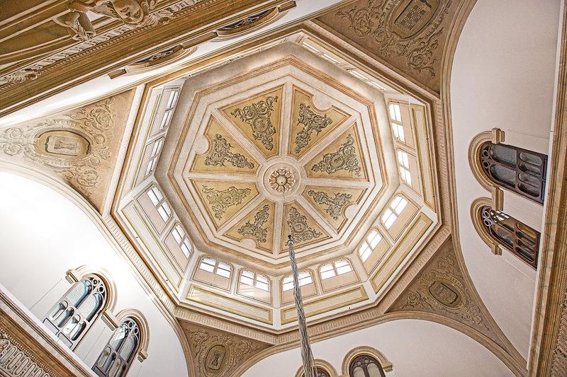 Hospes Palacio De Los Patos-Ceiling Detail<br/>Image from Leonardo