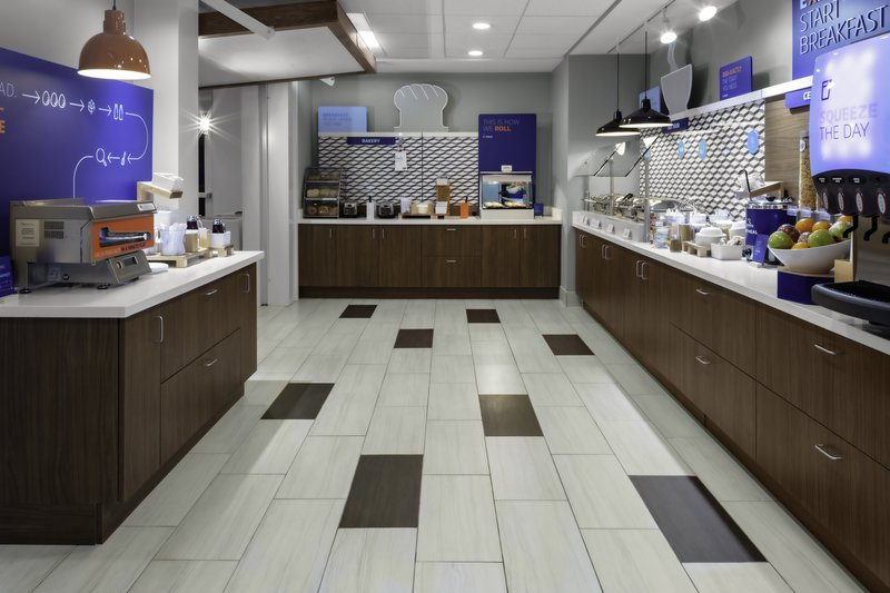 Holiday Inn Express And Suites Wilmington West -Medical Park-Breakfast Bar<br/>Image from Leonardo
