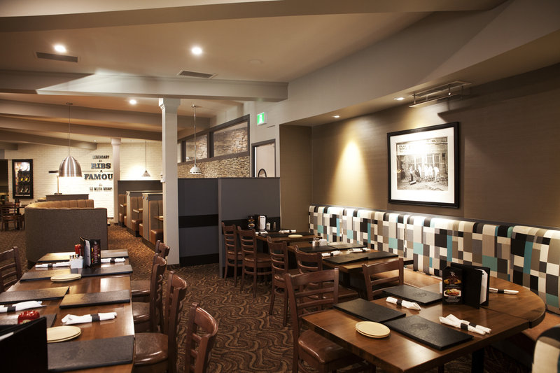 Holiday Inn Lethbridge-In-house dining option for breakfast, lunch and dinner.<br/>Image from Leonardo