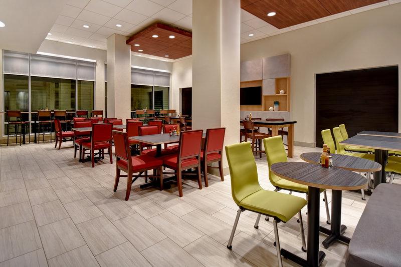 Holiday Inn Express and Suites Galveston Beach-Breakfast Area<br/>Image from Leonardo
