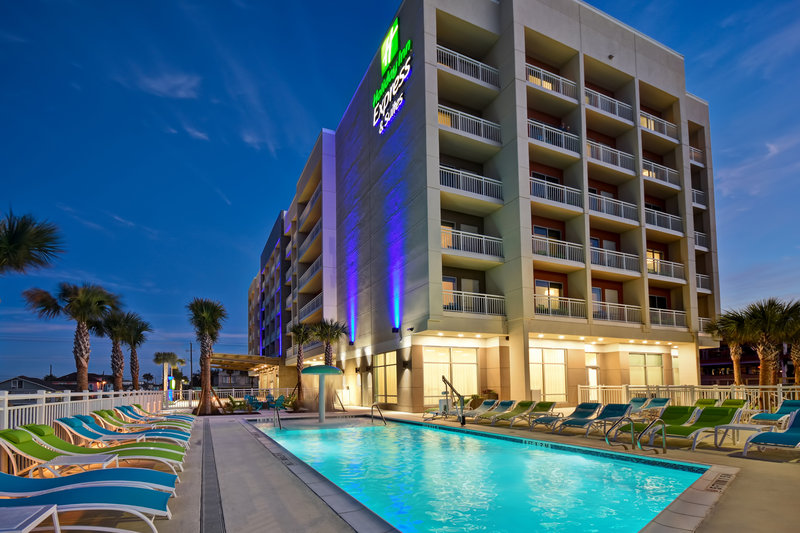 Holiday Inn Express and Suites Galveston Beach-Hotel Exterior<br/>Image from Leonardo