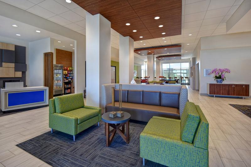 Holiday Inn Express and Suites Galveston Beach-Hotel Lobby<br/>Image from Leonardo