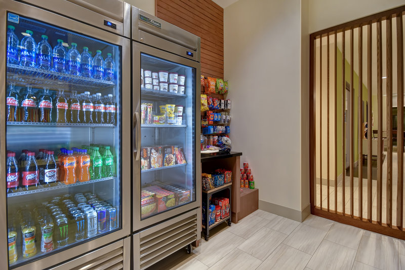 Holiday Inn Express and Suites Galveston Beach-Gift Shop- Snacks and drinks <br/>Image from Leonardo