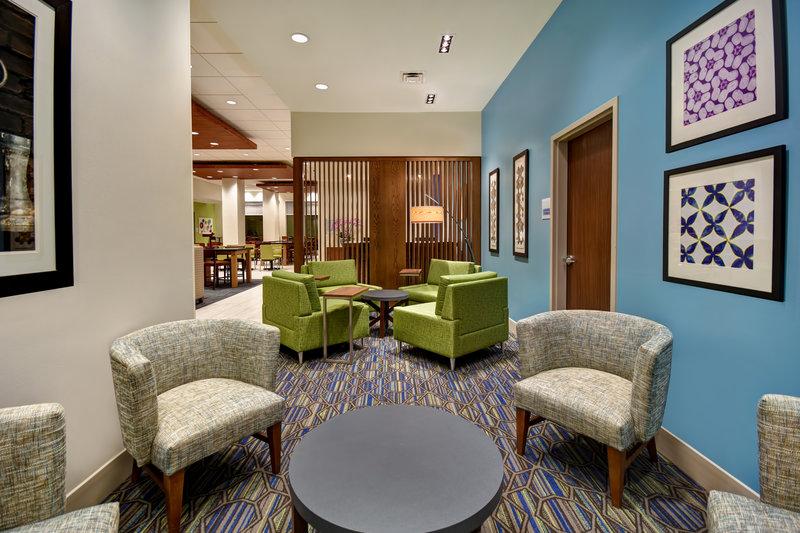 Holiday Inn Express and Suites Galveston Beach-Lobby Lounge<br/>Image from Leonardo