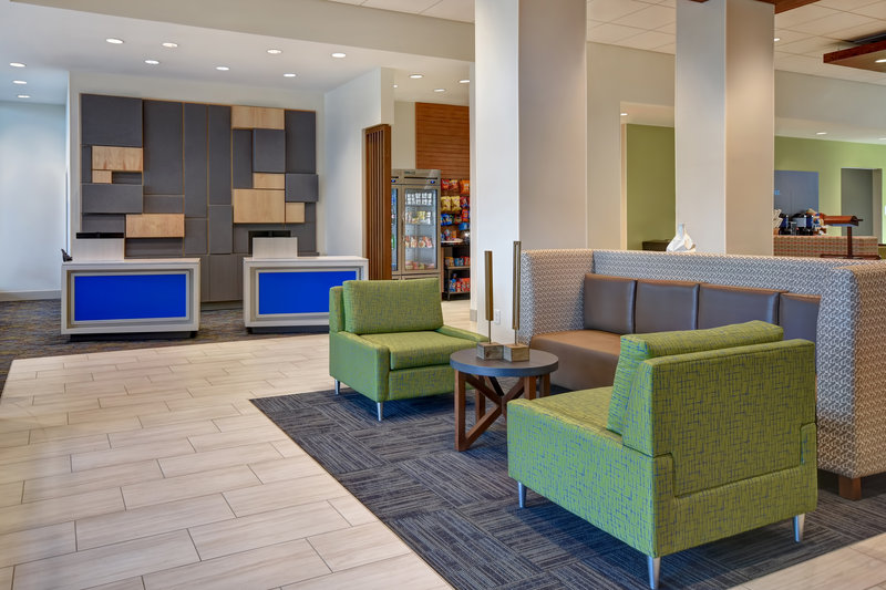 Holiday Inn Express and Suites Galveston Beach-Reception<br/>Image from Leonardo