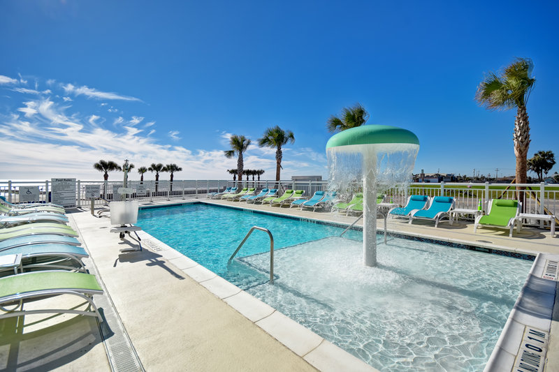 Holiday Inn Express and Suites Galveston Beach-Swimming Pool<br/>Image from Leonardo
