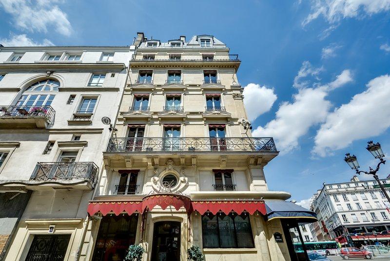 Aparthotel Pavillon Courcelles Parc Monceau-Fa Ade<br/>Image from Leonardo