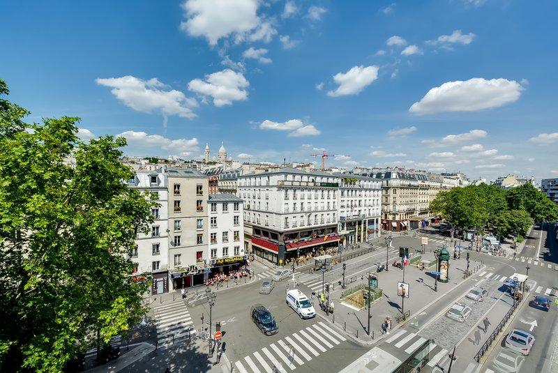 Aparthotel Pavillon Courcelles Parc Monceau-Vue Place Pigalle<br/>Image from Leonardo