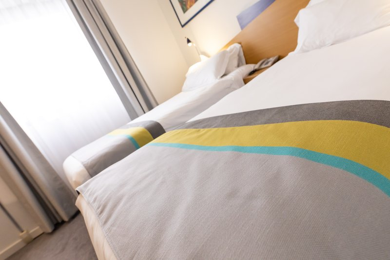 Holiday Inn Express Arras-1m X 2m mattresses in twin bedded rooms<br/>Image from Leonardo