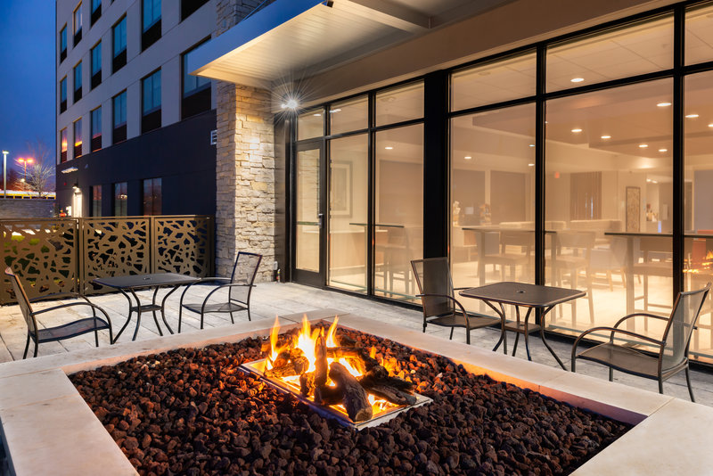 Holiday Inn Express And Suites Romeoville - Joliet North-After spending a day at Canlan Ice Arena warm up by our firepit!<br/>Image from Leonardo