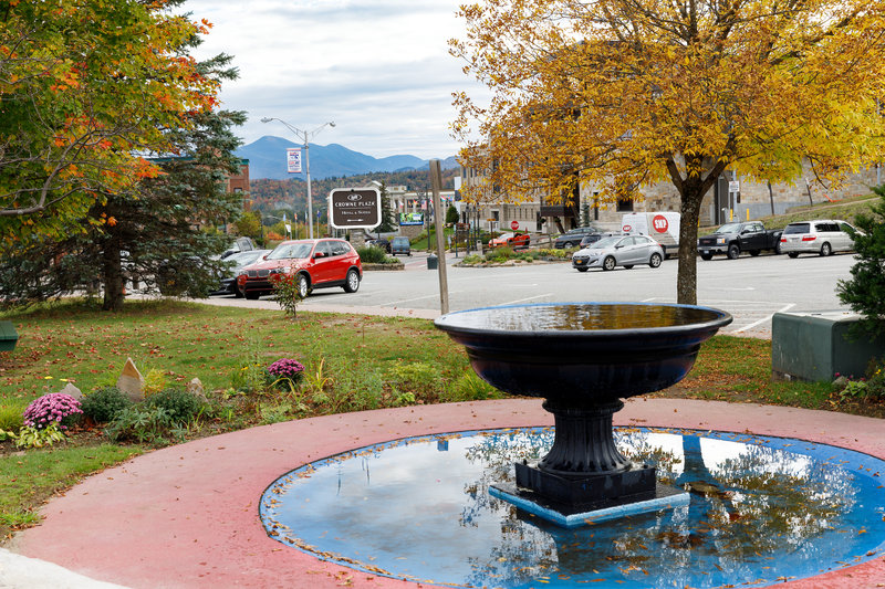 Crowne Plaza Lake Placid-Main Street is right down the hill and steps away from the hotel <br/>Image from Leonardo