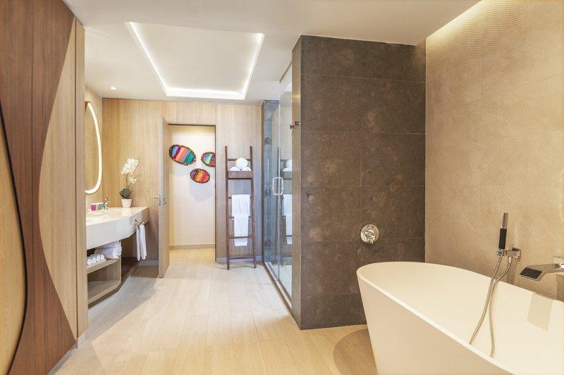 Hyatt Ziva Cap Cana  - Ocean View One Bedroom Master Suite Bathroom <br/>Image from Leonardo