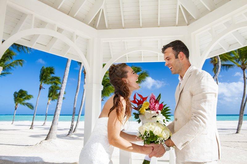 Hyatt Ziva Cap Cana  - Hyatt Ziva Cap Cana Gazebo Weddings Couple <br/>Image from Leonardo