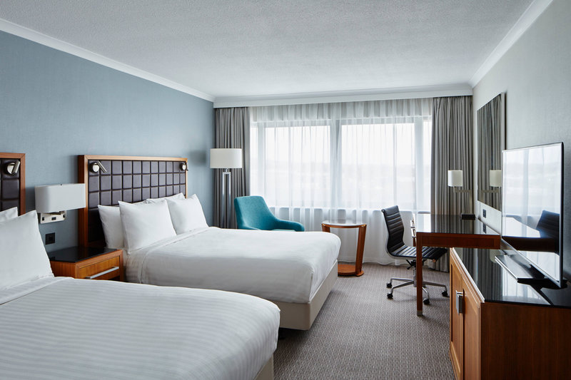 Marriott Portsmouth Hotel-Double/Double Deluxe Guest Room<br/>Image from Leonardo