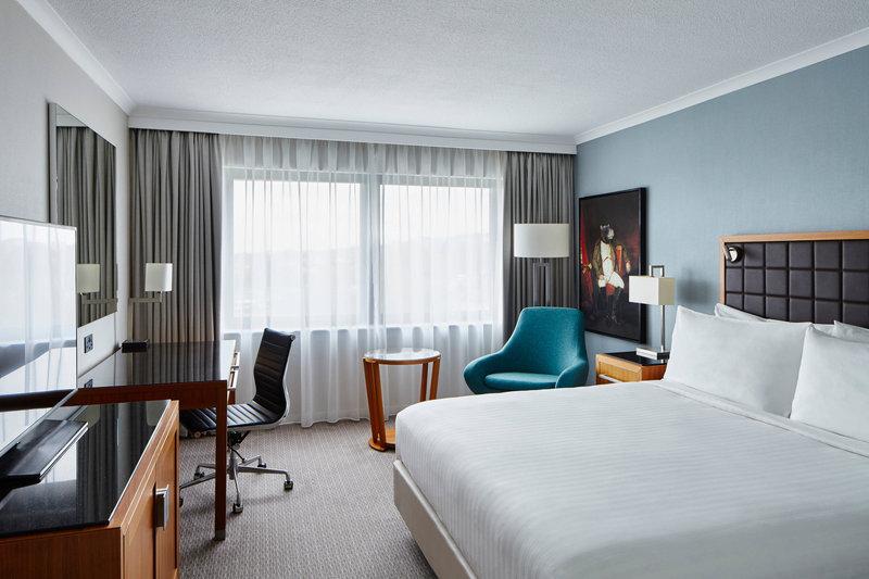 Marriott Portsmouth Hotel-King Guest Room<br/>Image from Leonardo