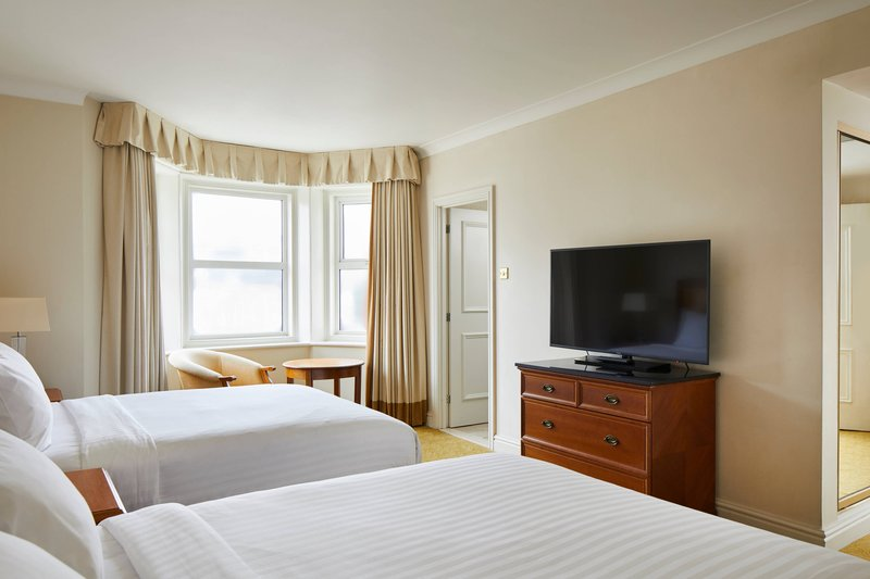 Bournemouth Highcliff Marriott Hotel-Double/Double Family Guest Room<br/>Image from Leonardo