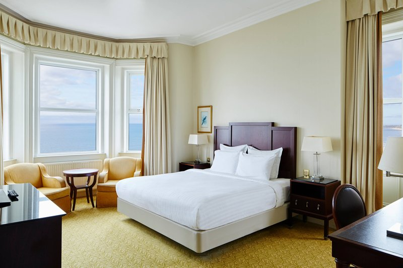 Bournemouth Highcliff Marriott Hotel-King Superior Guest Room<br/>Image from Leonardo