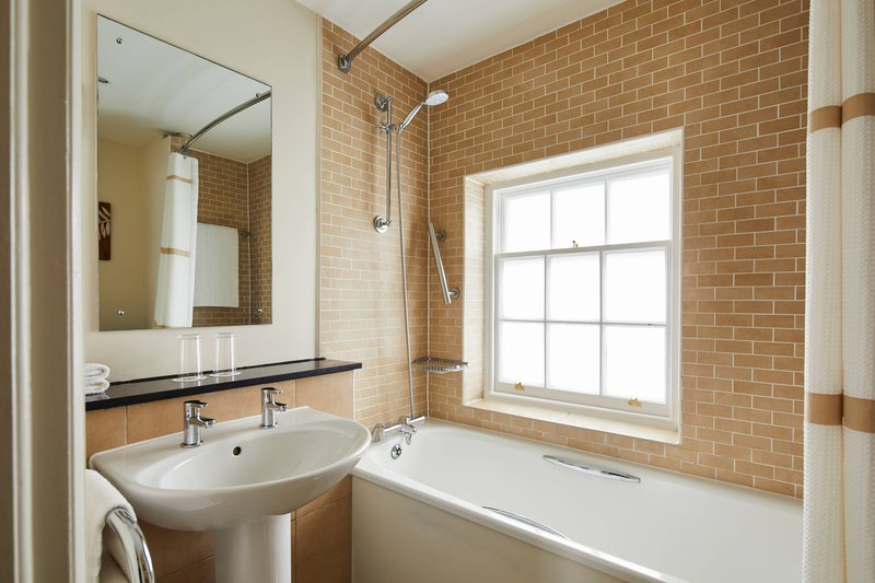 Bournemouth Highcliff Marriott Hotel-King Deluxe Cottage Guest Room - Bathroom<br/>Image from Leonardo