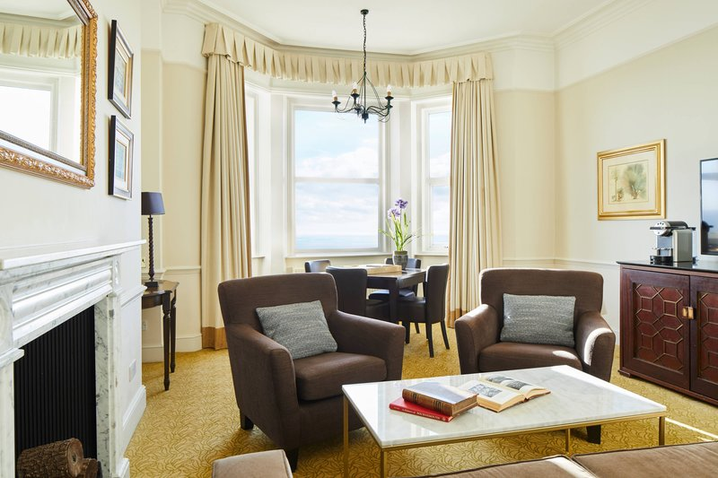 Bournemouth Highcliff Marriott Hotel-Sea View Suite - Living Room<br/>Image from Leonardo