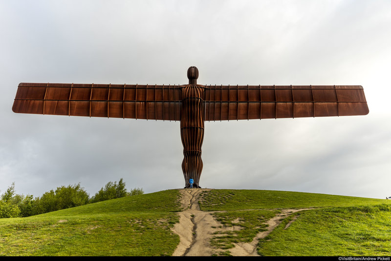 Holiday Inn Express Newcastle City Centre-Take a 10-minute drive for some snaps of the Angel of the north<br/>Image from Leonardo