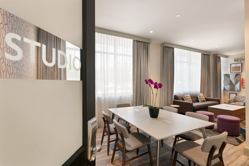 Crowne Plaza Philadelphia - King of Prussia-The Studio Lounge offers the perfect space for a small party.<br/>Image from Leonardo
