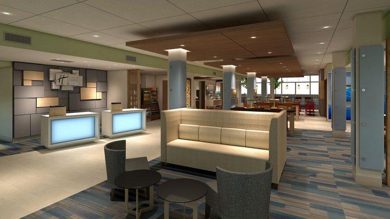 Holiday Inn Express & Suites Rockford-Loves Park-Hotel Lobby<br/>Image from Leonardo