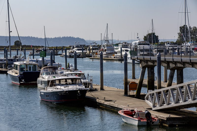Hotel Indigo Seattle Everett Waterfront-Our hotel is located on the Everett Marina<br/>Image from Leonardo