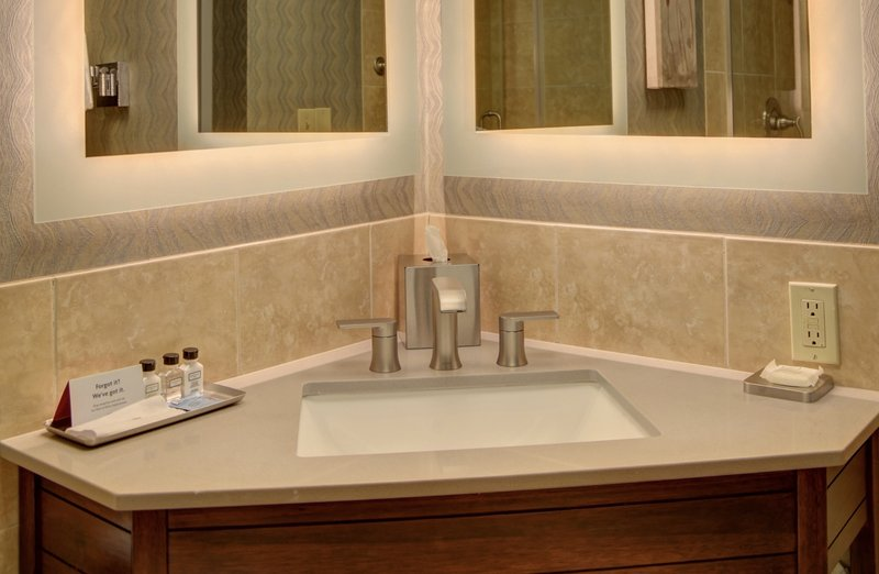 Crowne Plaza Knoxville Downtown University-Guest Bathroom<br/>Image from Leonardo