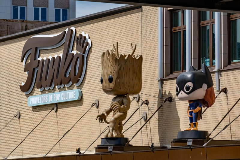 Hotel Indigo Seattle Everett Waterfront-Funko Headquarters is minutes from the hotel<br/>Image from Leonardo
